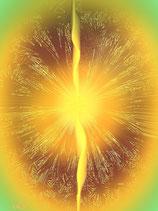 """Engels-Energiekarte """"Der Engel des goldenen Lichts"""""""