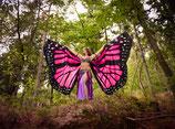 Butterfly Isis Wings pink (Schmetterlingsflügel)