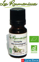 Huile essentielle Sarriette des Montagnes Bio 10 ml