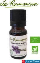 Huile essentielle Lavandin super Bio 10 ml