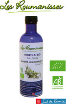 Hydrolat Sarriette des montagnes Bio 200 ml