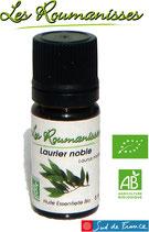 Huile essentielle de Laurier noble Bio 5 ml
