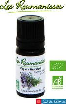 Huile essentielle Thym linalol Bio 5 ml