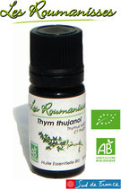 Huile essentielle Thym thujanol Bio 5 ml
