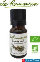 Huile essentielle Cyprès vert Bio 10 ml