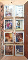 Multi Picture frame - for format approx. 10x14