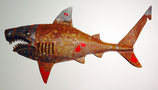 Shark Metal Wall Sculpture