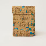 Turquoise Dots & Squares iPad & Tablet Sleeve