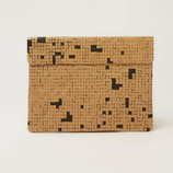 Black Dots & Squares Laptop Sleeve