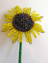 Beaded Sunflower