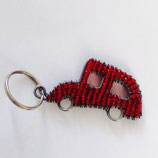 Beaded Keyring Car