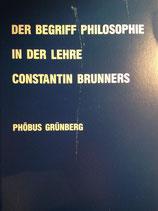 Grünberg, Phöbus: ›Der Begriff Philosophie in der Lehre Constantin Brunners‹ Den Haag 1985, 124 S.