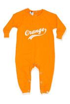 Orange Sweat Romper - Shampoodle