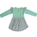 Morse Code Print Dress - Indikidual