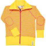 Zipsweater yellow/cerise - Geggamoja