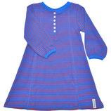 Robe à bouton bleu/rouge - Geggamoja