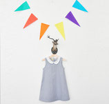 Blue Sky Dress - Les Petits Vagabonds
