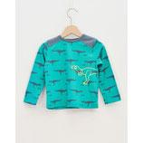 Tshirt manche longue imprimé dinosaure -  La Queue du Chat