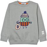 Bandit gray sweatshirt - Idikidual