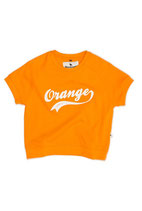 Orange Sweat Tee - Shampoodle