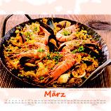 großer Bilderkalender 2021 Culinaria Mediteranea 42cmx42cm mit Ringbindung 13Blatt 170gr. Qualitätspapier