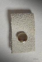 Lederlabel Fb. stein