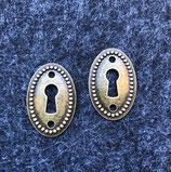 2 Stk. Schlüsselloch
