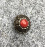 Rund Indianisch mit rotem Stein