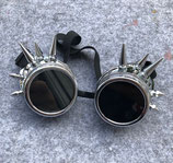Goggles Spike silber
