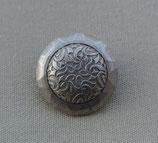 Knopf Silber Kunststoff
