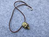 Steampunk Schädel an Veloursband
