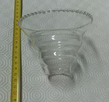 Lot of 2 cups transparent for Ducale Veart chandelier