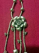 (Agotado) Collar de Plata flor