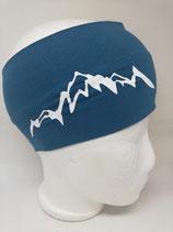 Baumwoll Stirnband Berg 1.0