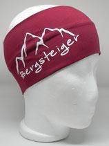Bergsteiger weinrot/weiss