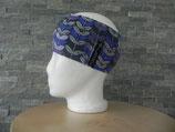 Vicente Blätter grau/violett