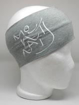 Headband Mountains Schriftzug mintgrün