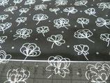 MNM grafische Blume schwarz/weiß