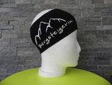 Bergsteigerin schwarz/weiss