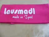 Lausmadl Baby pink/weiß