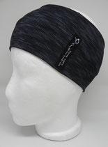 Funktionsstirnband Lines schwarz/grau