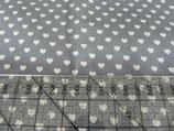 MNM Little Heart mausgrau/weiß