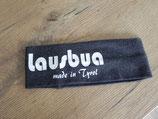 Lausbua made in Tyrol dunkelgrau