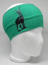 Steinbock smaragd/schwarz