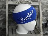 Bergleben Stirnband royalblau/weiß
