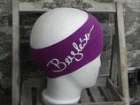 Bergleben Stirnband berry/weiß