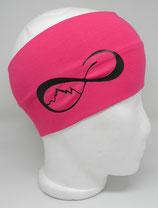 Headband UnendlichBerge pink