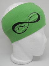 Headband UnendlichBerge grasgrün