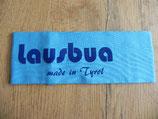 Lausbua made in Tyrol türkis/blau