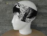 Palmenblätter schwarz/weiß